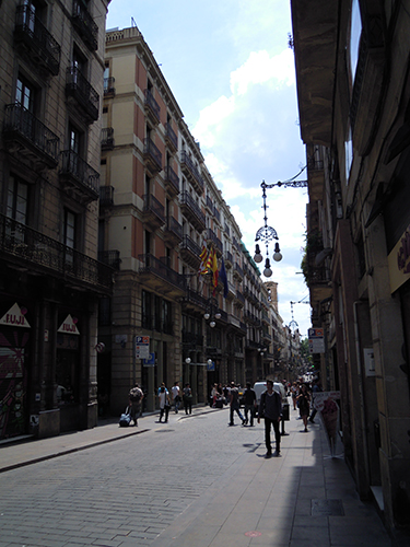 バルセロナの街並み 12の高画質画像