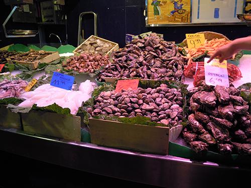 バルセロナの魚介類市場 2の高画質画像