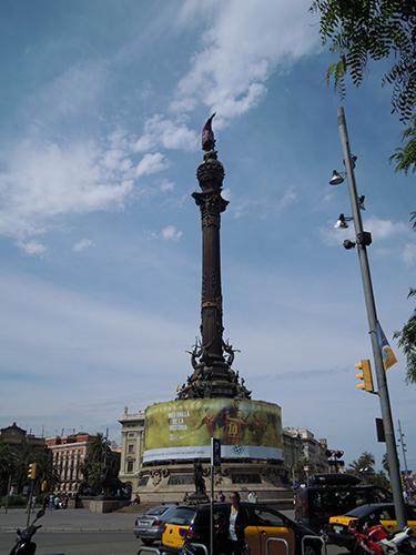 コロンブスの塔、バルセロナ 3の高画質画像