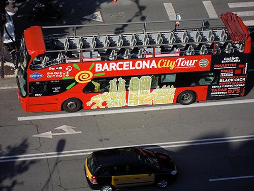 ミラ邸の屋上からの眺め、バルセロナ 3の高画質画像