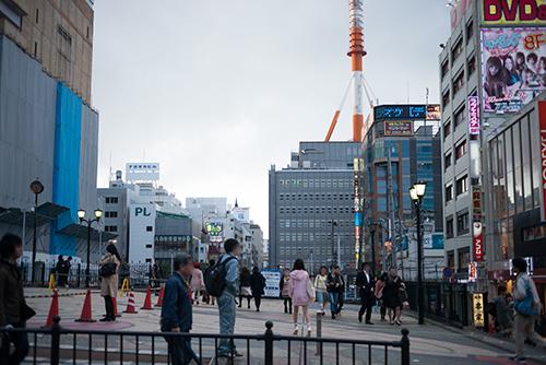 横浜の繁華街 1の高画質画像