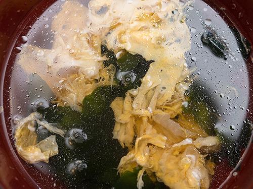 たまごスープの高画質画像