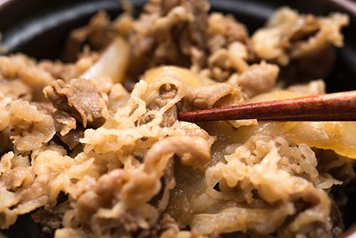 牛丼の高画質画像