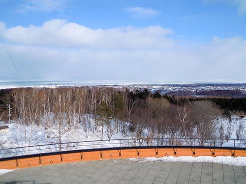 雪国の景色の高画質画像