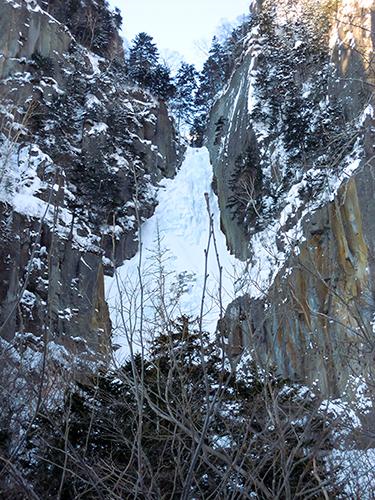 不動岩、大雪山国立公園の高画質画像