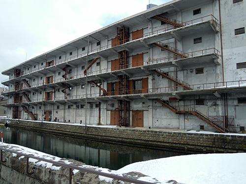 冬の小樽運河 7の高画質画像