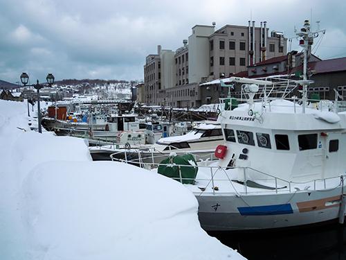 冬の小樽運河 10の高画質画像
