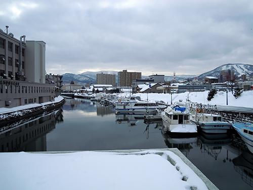 冬の小樽運河 15の高画質画像