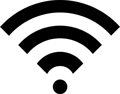 Wi-Fi 無線LAN 透過PNGの高画質画像