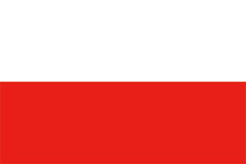 ポーランドの国旗の高画質画像