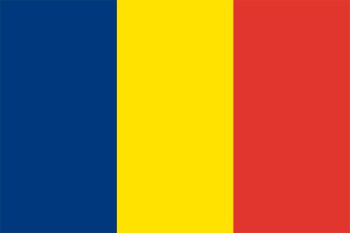 チャドの国旗の高画質画像