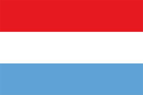 ルクセンブルクの国旗の高画質画像