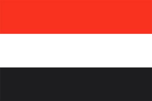 イエメンの国旗の高画質画像