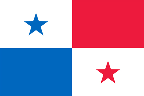 パナマの国旗の高画質画像