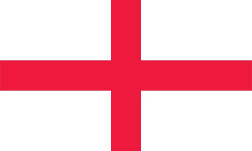 イングランドの国旗の高画質画像