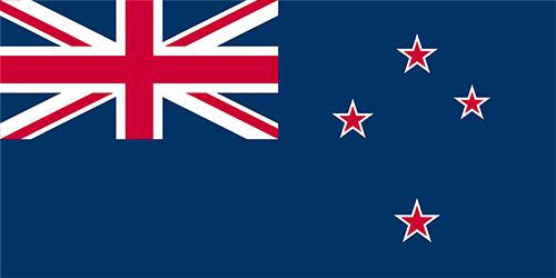 ニュージーランドの国旗の高画質画像