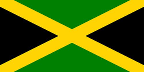 ジャマイカの国旗の高画質画像