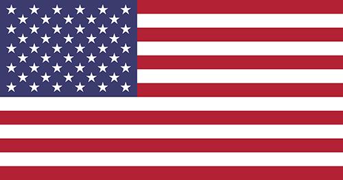アメリカ合衆国の国旗の高画質画像