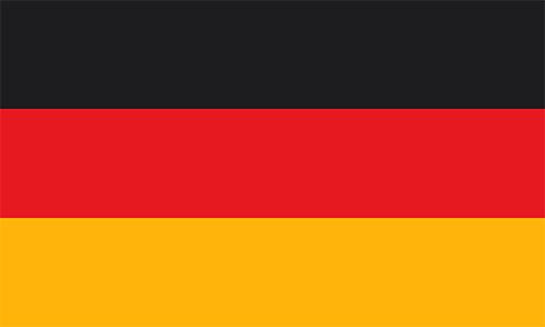ドイツの国旗の高画質画像