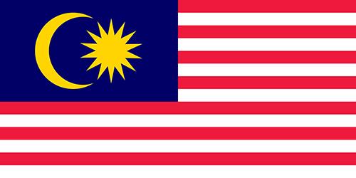 マレーシアの国旗の高画質画像
