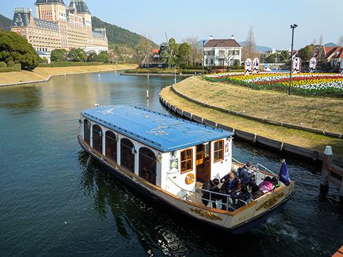 カナルクルーザー 運河船、長崎県佐世保市の高画質画像
