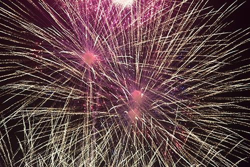 花火大会のはなび 86の高画質画像