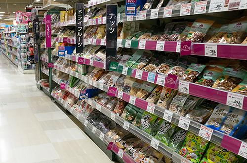 スーパーマーケットの高画質画像