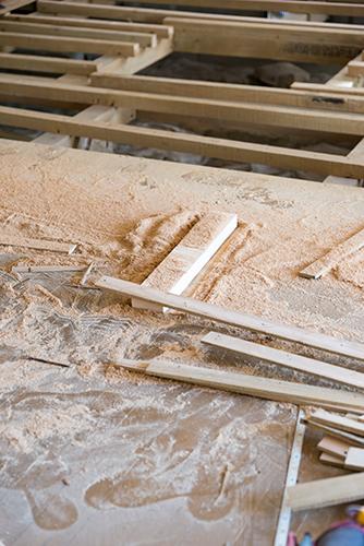 工事現場の木材 1の高画質画像