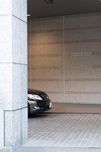 ホテルの入り口の高画質画像