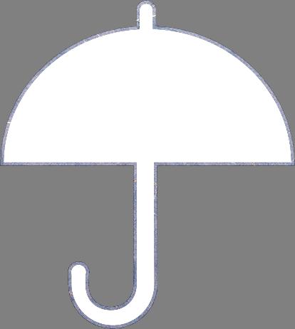傘のイラストの高画質画像