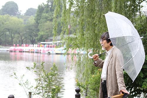 雨だからボートに乗れないわぃの高画質画像