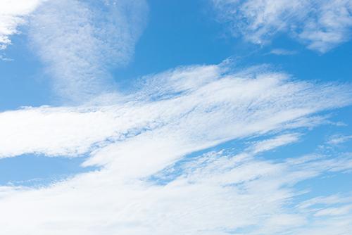 青い空と雲 10の高画質画像