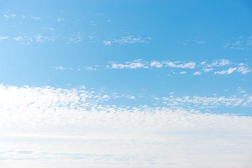 青い空と雲 13の高画質画像
