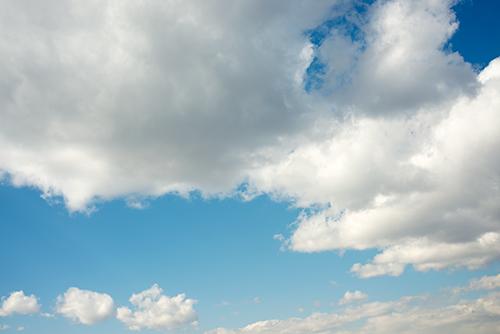 青い空と雲 27の高画質画像