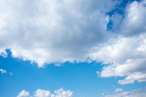 青い空と雲 28の高画質画像