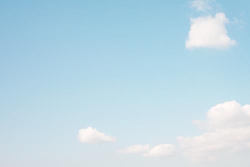 青い空と雲 41の高画質画像