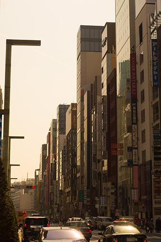 銀座の町並み 4の高画質画像