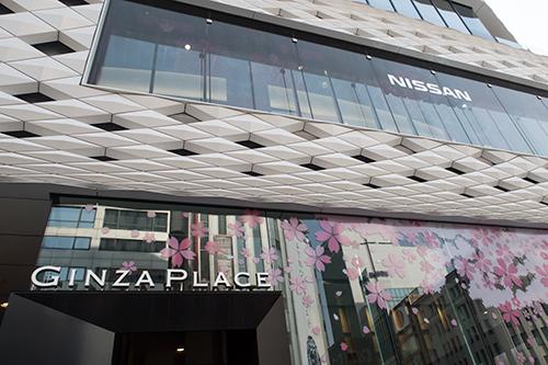 GINZA PLACE、銀座の町並み 12の高画質画像