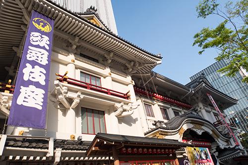 歌舞伎座、銀座の町並み 19の高画質画像