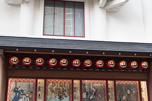 歌舞伎座、銀座の町並み 24の高画質画像