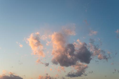 夕方の空模様 2の高画質画像
