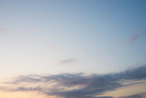 夕方の空模様 3の高画質画像