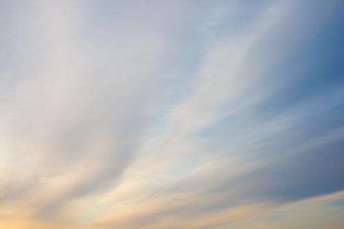 夕方の空模様 4の高画質画像