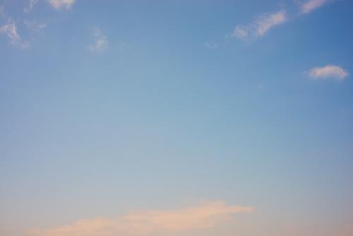 夕方の空模様 6の高画質画像