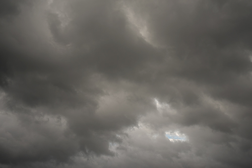 夕方の空模様 12の高画質画像