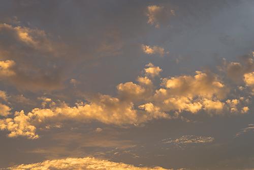 夕方の空模様 18の高画質画像