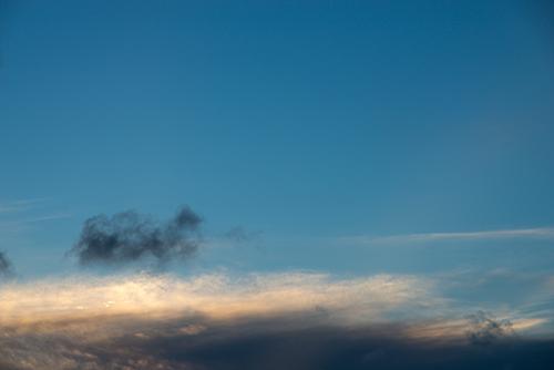 夕方の空模様 20の高画質画像