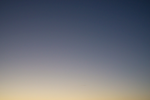 夕方の空模様 26の高画質画像