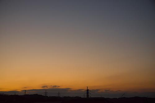 夕方の空模様 30の高画質画像