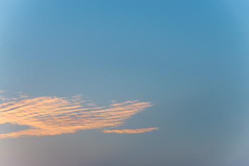 夕方の空模様 31の高画質画像
